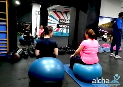 Pilates postparto con bebés - Alcha Fisioterapia y Rehabilitación